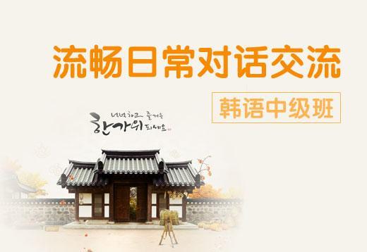 韩语中级班补款(分期乐)