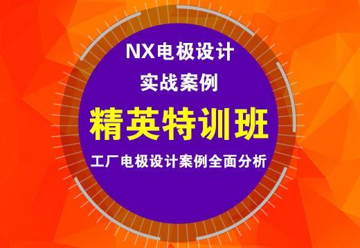 NX电极设计实战案例精英特训班