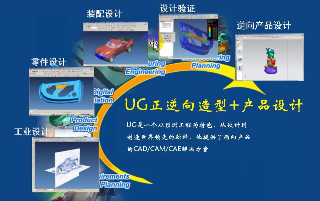 UG产品设计全套班